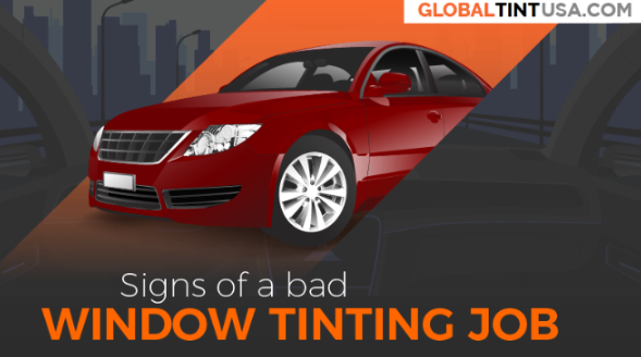 Signs Of A Bad Window Tinting Job