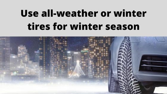 225/50R17 winter tires