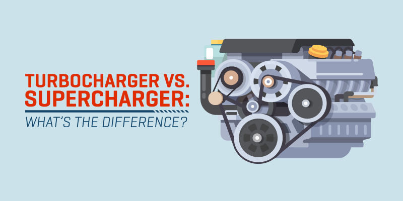 Turbocharger vs. Supercharger: What's the difference?